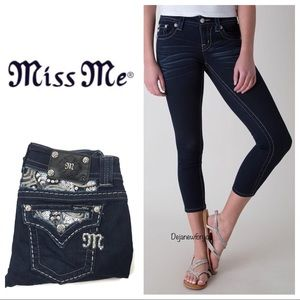 Miss Me Cropped Skinny Jeans